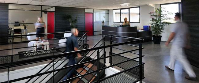 La reception client AG3M